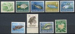 Norfolk Islands - 1960/1963 - Yt 28-30-34-35-37-38-39-40-42 - Série Courante ** - Ile Norfolk