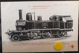 N°87) LES LOCOMOTIVES -(SUISSE) N° 177 - Trains
