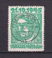 Mecklenburg-Vorpommern - 1945 - Michel Nr. 20 A - Gestempelt - 80 Euro - Zone Soviétique