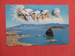 Indian Chiefs Pyramid Lake Nevada   Ref 3754 - Native Americans