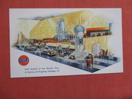 Gulf Gas Exhibit Chicago World Fair  Ref 3754 - Advertising