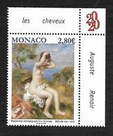 Monaco 2019 - «Le Nu Dans L'art» Baigneuse S'arrangeant Les Cheveux  Par Pierre-Auguste Renoir  ** - Monaco