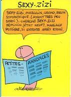 Illustrateur LASSALVY - SEXY-ZIZI, Petites Annonces... - CP Sans N° - Lassalvy