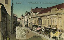 Romania, ORADEA, Bulevardul Regele Ferdinand (1926) Postcard - Roemenië