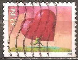 États Unis - 2008 - Amour, Don Du Cœur - YT 4046 Oblitéré - Usati
