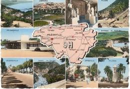 ALGERIE- ORLEANSVILLE ET REGION 9H- MULTIVUES - Ghardaïa