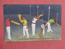 Jai Alai Biscayne Fronton Miami Florida   Ref 3755 - Postcards