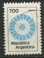 Argentine - Argentinien - Argentina 1980-81 Y&T N°1238 - Michel N°1501 (o) - 700p Couleur Nationale - Argentina