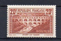 FRANCE : N° 262 ** . QQ ADHÉRENCES .1929/31 . SIGNE CALVES .  ( CATALOGUE YVERT ) . - 1921-1960: Periodo Moderno