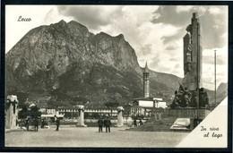 LECCO - In Riva Al Lago - Cartolina Viaggiata Anno 1943 - Lecco