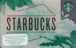 GERMANY Gift-card  Starbucks - Starbucks - 6169 - Gift Cards