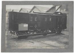 Fourchambault (Nièvre) Wagon Atelier Magnard & Cie PLM Express N° 18779 15T Photo Simon Paris - Trains