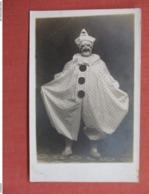 RPPC Dressed As Clown    Studio Dayton Ohio Ref 3755 - Entertainment