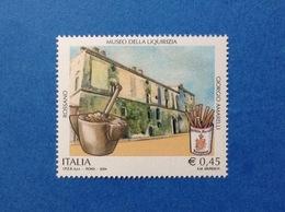 2004 ITALIA ROSSANO MUSEO DELLA LIQUIRIZIA AMARELLI FRANCOBOLLO NUOVO STAMP NEW MNH** - 6. 1946-.. Repubblica