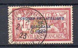 FRANCE : N° 182 . OBL . TB .1923 . SIGNE CALVES .  ( CATALOGUE YVERT ) . - 1921-1960: Periodo Moderno