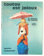 """Petit Livret """" Toutou Est Jaloux """", Ortf 1966, Pub Bécassine / TV, Télévision - Livres, BD, Revues"""