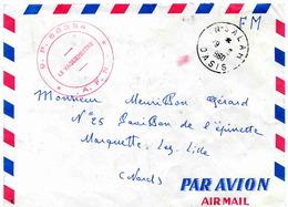IN-SALAH OASIS (wilaya De Tammanrasset (Algérie) - Lettre En Franchise Militaire - 1961 - Lettres & Documents