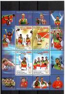 Belarus 2010 . Medal Winners At Beijing 2008. S/S Of 4v X1000.    Michel # BL77 - Bielorussia