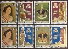 Cook Islands 1978 Coronation Anniversary MNH - Islas Cook