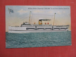 Million Dollar Steamship Catalina Ref 3755 - Steamers