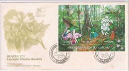 Brasil, 1991, Brapex VIII Exposção Filatélca Brasileira - Brazilië