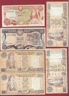 Chypre 6 Billets Dans L 'état - Chipre