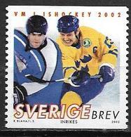 Suède 2002 N°2255 Neuf Hockey Sur Glace - Schweden