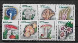 Serie De El Salvador Nº Yvert 1489/96 ** SETAS (MUSHROOMS) - El Salvador