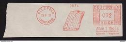 Deutschtes Reich AFS - ELLEFELD, Albin T. Thoss Herrenwäschefabrik 1933 - Germany