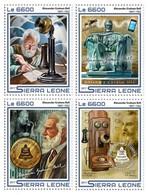 SIERRA LEONE - 2017 - Alexander Graham Bell - Perf 4v Sheet -  M N H - Sierra Leone (1961-...)