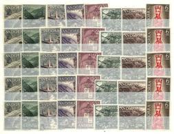 Andorra Española Nº 60/67 Cinco Series Nuevas. Cat.40€ - Spanish Andorra