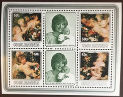 Cook Islands 1982 Christmas Sheetlet MNH - Islas Cook