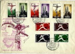 España Nº 1280/9 En Sobre. Cat.36€ - 1931-Today: 2nd Rep - ... Juan Carlos I