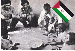 Front Polisario. Sahara Occidental. CP De Propagande. - Mauritanie