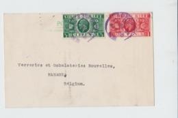 SILVER JUBILEE - LONDON TO BELGIUM MANAGE - 1935 - 1902-1951 (Kings)