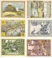 Notgeld Rehmen 2 X 25, 4 X 50 Pf 1921 - [11] Emisiones Locales