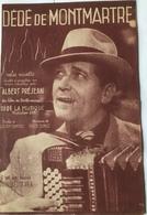 (3) Partituur - Dédé De Montmartre - Valse Musette - Albert Préjean -  Paul Beuscher - Partitions Musicales Anciennes