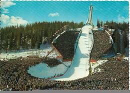 SKI En Norvège : Saut à Ski Olympique De Holmenkollen, à Oslo. CPSM. - Sports D'hiver