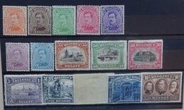 BELGIE  1915    Nr. 135 - 149    Spoor Van Scharnier *    CW  595,00 - 1915-1920 Albert I