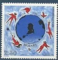 """FR YT 2695 """" W. A. Mozart """" 1991 Neuf** - France"""
