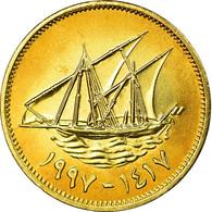 Monnaie, Kuwait, Jabir Ibn Ahmad, 5 Fils, 1997/AH1417, SPL, Nickel-brass, KM:10 - Koweït