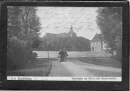AK 0378  Rendsburg - Paradeplatz Mit Christ- Und Garnisonkirche Um 1906 - Rendsburg