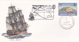 Pitcairn Islands 1986 HMAV Bounty, Souvenir Cover - Pitcairn Islands