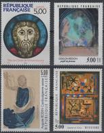 Artistique 1990, La Série Complète** N°2635, 2636, 2637, 2672 - France
