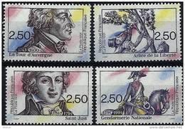 "FR YT 2700 à 2703 "" Révolution Française "" 1991 Neuf** - France"
