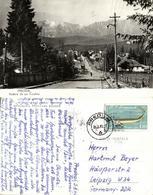 Romania, PREDEAL, Vedere De Pe Cioplea (1962) RPPC Postcard - Roemenië