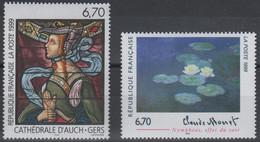 Artistique 1999, N°3247, 3254** - Neufs