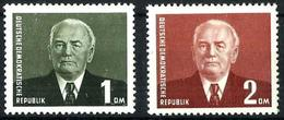 Alemania Oriental Nº 78/9 Nuevos. Cat.35€ - Unused Stamps
