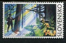 SLOVAKIA 2004 Nature Reserve MNH / **.  Michel 489a - Ungebraucht