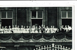 CPA-Carte Postale-Royaume-Uni- Couronnement D'Elisabeth II La Reine  Au Balcon-1953-VM9915 - Royal Families